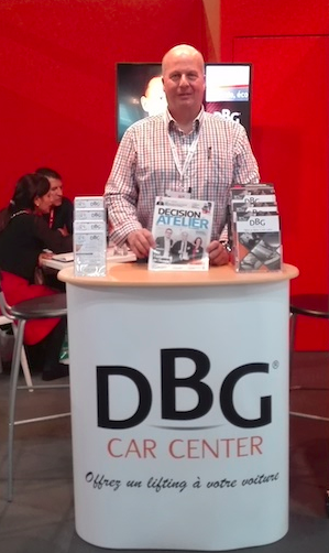 Jean François Leday - salon Franchise Expo Paris pour DBG Car Center
